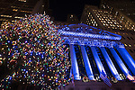 NYSE 92nd Annual Christmas Tree Lighting 12.3.15