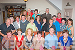 5471-5475.---------.School party.------------.Gael Scoil Mhic Easmainn,Killeen Rd,Tralee,got together for the last time before the summer break in Bella Bia restaurant last Friday night(seated)L-R Jim O'Sullivan,Bri?d Ui? Chatha?in,Cathri?ona Ui? Churra?in,Ca?it Ui? Luanaigh,Liam O? Comchubhair,agus Ma?ire Mhic Giolla Ruan(2nd row)L-R Mike Hillard,Macklin Ni? Arraga?in,Ma?ire Ui? Nei?ll,Colm O? hAinife?in,Ma?ire Nic Mhathu?na,No?iri?n De Barra,Olive Ui? Ghe?ara?in,Treasa Ui? Raghaill,Ma?ire Ui? Mhurchu?,Do?nal O? Su?illeabhain,De?agla?n O? Cuill,Rebecca Harrington,agus Ca?itui? Chonchu?ir(Back)L-R Maire?ad Ni? Bhrosnacha?in,EiBhLi?n Ni? Mhaini?n,Bri?d De Ra?th agus Brian Caball.