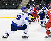 Joonas Nättinen (Finland - 18) - Russia defeated Finland 4-0 at the Urban Plains Center in Fargo, North Dakota, on Friday, April 17, 2009, in their semi-final match during the 2009 World Under 18 Championship.