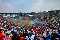 27th October 2019, Autodromo HermanRodriguez, Mexico City, Mexico; F1 Grand Prix of Mexico, Race Day; General view during the podium ceremony