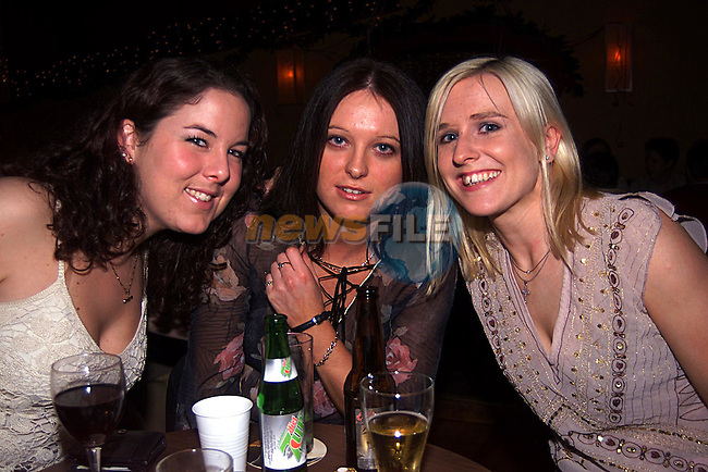 Caroline Healy,Michelle O Sullivan and Maeve O Connor in Solas...Pic Tony Campbell Newsfile