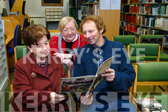 At the Launch of the The Kerry Archaeological and Historical Society Magazine 2018 at the Kerry County Library Tralee on Tuesday were Kathleen Browne, Founder Member, Anna O'Leary and Mike Culloty