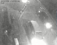 """Pictured: CCTV image released by South Wales Police showing Awez Jamshiad and Saif Shazhad are seen walking down Holmesdale Street moments later Dan Roberts leaps over a pillar and attacks Malaciah Thomas who is sat in the Silver Fusion vehicle.<br /> Malaciah is observed running away from vehicle and is pursued by Dan Roberts and Christopher Griffiths, he is followed by Saif Shazhad. A short time later the Audi A3 travelling in direction of Corporation Road.<br /> Re: Earlier this week Christopher Griffiths and Awez Jamshaid were convicted of murdering Malaciah Thomas and Saif Shahzad was found guilty of manslaughter.<br /> A fourth man, Daniel Roberts, admitted murder partway through the trial.<br /> Today, all four were sentenced at Cardiff Crown Court:<br /> Daniel Roberts, Christopher Griffiths, and Awez Jamshaid, were all sentenced to life imprisonment.<br /> Roberts, 20, and Griffiths, 30, must serve a minimum of 25 years, while 19-year-old Jamshaid will serve at least 11 years.<br /> Shahzad, 19, was sentenced to 7 years 6 months in a Young Offenders Institution.<br /> Just before 2am on Monday, July 23 2018, officers were called to reports of a serious assault in the front garden of a house in Corporation Road, Grangetown.<br /> Malaciah Thomas 20, suffered multiple stab wounds and died at the scene.<br /> Speaking after the sentencing at Cardiff Crown Court, Senior Investigating Officer Detective Chief Inspector Gareth Morgan said: """"Malaciah Thomas was stabbed to death just two days before his 21st birthday and our thoughts are with his family and friends.<br />  """"This tragic case sadly highlights the devastating and far-reaching consequences of knife crime.<br />  """"Knife crime has risen across the UK and unfortunately we are not an exception to that.<br />  """"During the early hours of Monday, July 23rd 2018 four young men left an address in Roath and drove to Grangetown.<br />  """"Two of them were armed with knives - all four knew the objective was to attack"""