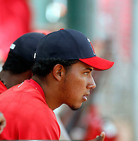 Braulio Lopez  -  Los Angeles Angels - 2009 extended spring training.Photo by:  Bill Mitchell/Four Seam Images