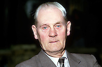 Tommy Patton, councillor, Ulster Unionist, Belfast, N Ireland, 19850514TP1..Copyright Image from Victor Patterson, 54 Dorchester Park, Belfast, UK, BT9 6RJ..Tel: +44 28 9066 1296.Mob: +44 7802 353836.Voicemail +44 20 8816 7153.Skype: victorpattersonbelfast.Email: victorpatterson@me.com.Email: victorpatterson@ireland.com (back-up)..IMPORTANT: If you wish to use this image or any other of my images please go to www.victorpatterson.com and click on the Terms & Conditions. Then contact me by email or phone with the reference number(s) of the image(s) concerned.
