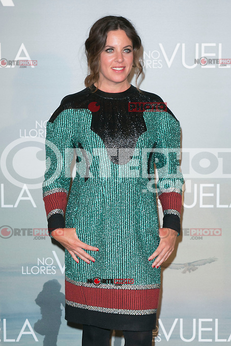 Claudia Llosa attends Claudia&acute;s Llosa &quot;No Llores Vuela&quot; movie premiere at Callao Cinema, Madrid,  Spain. January 21, 2015.(ALTERPHOTOS/)Carlos Dafonte) /NortePhoto<br />