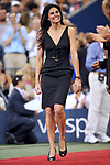Former Argentinia's tennis player Gabriela Sabatini attends the opening ceremonies during the first day of the 2008 US Open at the Billie Jean King National Tennis Center in New York City, NY, USA on August 25, 2008. Photo by Corinne Dubreuil/Cameleon/ABACAPRESS.COM  | 161817_07 New York City