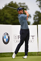 Webb Simpson (USA) watches his tee shot on 2 during Rd4 of the 2019 BMW Championship, Medinah Golf Club, Chicago, Illinois, USA. 8/18/2019.<br /> Picture Ken Murray / Golffile.ie<br /> <br /> All photo usage must carry mandatory copyright credit (© Golffile | Ken Murray)