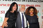 XIV Sopar Solidari de Nadal.<br /> Esport Solidari Internacional-ESI.<br /> Cristina Cubero, Josep Maldonado &amp; Regina Dos Santos.