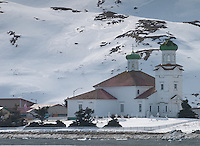 Russian Orthodox Church in Dutch Harbor, Alaska