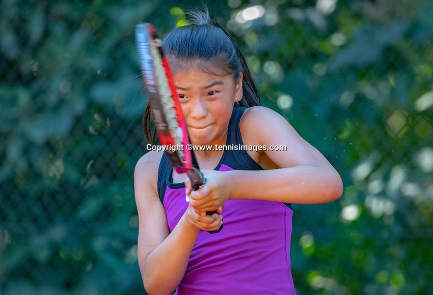 Hilversum, Netherlands, August 6, 2018, National Junior Championships, NJK, Noa Wong (NED)<br /> Photo: Tennisimages/Henk Koster