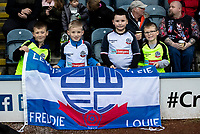 Bolton Wanderers' supporters enjoying the pre-match atmosphere<br /> <br /> Photographer Andrew Kearns/CameraSport<br /> <br /> The EFL Sky Bet League One - Rochdale v Bolton Wanderers - Saturday 11th January 2020 - Spotland Stadium - Rochdale<br /> <br /> World Copyright © 2020 CameraSport. All rights reserved. 43 Linden Ave. Countesthorpe. Leicester. England. LE8 5PG - Tel: +44 (0) 116 277 4147 - admin@camerasport.com - www.camerasport.com