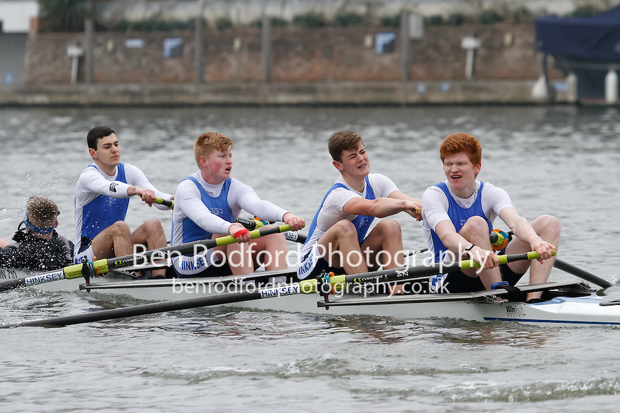Crew: 72 - Hinksey Sculling Sch  - NOV.4+ <br /> <br /> Henley Fours &amp; Eights Head 2017<br /> <br /> To purchase this photo, or to see pricing information for Prints and Downloads, click the blue 'Add to Cart' button at the top-right of the page.