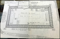 BNPS.co.uk (01202 558833)<br /> Pic: Bonningtons/BNPS<br /> <br /> Trooper Moreton's map of Stalag XXB in East Prussia.<br /> <br /> The amazing story of a fearless soldier who escaped from the Nazis eight times during five years as a POW including once to save a dying friend's life can be told after his bravery medals emerged for sale.<br /> <br /> Trooper Thomas Moreton, of the 19th King's Royal Hussars, was held captive at the notorious Stalag XXB in East Prussia after being captured during the Battle of France in May 1940.<br /> <br /> The tank driver was part of a defiant rearguard helping to buy time for the mass evacuation of British Expeditionary Force soldiers at Dunkirk.<br /> <br /> After being recaptured following one of his escapes, he twice went in front of a Gestapo firing squad but emerged unscathed. On another occasion, he broke out of camp to find a doctor who would tend to his gravely ill comrade as he was being denied treatment by the camp guards.