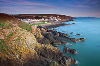 Portpatrick and Portpatrick Harbour from the Southern Upland Way, Portpatrick, Dumfries and Galloway