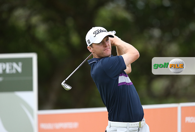 Michael Hoey (NIR) drives the 8th during Round One of the Africa Open 2015 at the East London Golf Club, East London, Eastern Cape, South Africa. Picture:  David Lloyd / www.golffile.ie. 05/03/2015