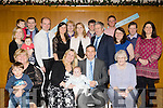 New Arrival<br /> ---------------<br /> Robert&amp;Michelle Breen, seated centre, Christened baby Charlie, By Fr Padraig Lynch in St Brendans church last Monday Dec 28th and after to a family celebration in the Ballyroe Hts Hotel, Tralee.