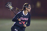 Santa Barbara, CA 02/18/12 - Tory Wilkinson (Chapman #34) in action during the Chapman - Florida matchup at the 2012 Santa Barbara Shootout.  Florida defeated Chapman 12-11.