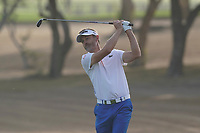 Raphael Jacquelin (FRA) in action during the third round of the Omega Dubai Desert Classic, Emirates Golf Club, Dubai, UAE. 26/01/2019<br /> Picture: Golffile | Phil Inglis<br /> <br /> <br /> All photo usage must carry mandatory copyright credit (© Golffile | Phil Inglis)