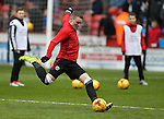 Caolan Lavery of Sheffield Utd warms up during the English League One match at Bramall Lane Stadium, Sheffield. Picture date: December 31st, 2016. Pic Simon Bellis/Sportimage