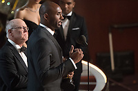 Kobe Bryant and Glen Keane accept the Oscar&reg; for best animated short film for work on &ldquo;Dear Basketball&rdquo; during the live ABC Telecast of The 90th Oscars&reg; at the Dolby&reg; Theatre in Hollywood, CA on Sunday, March 4, 2018<br /> *Editorial Use Only*<br /> CAP/PLF/AMPAS<br /> Supplied by Capital Pictures