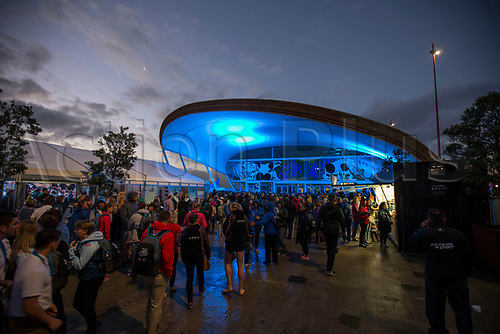 April 30th 2017, Auckland, New Zealand; Closing Ceremony of the World Masters Games; Scenes at the Cloud during the closing ceremony of the World Masters Games 2017 held at The Cloud on Auckland's waterfront