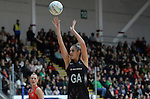 New Zealand&rsquo;s Te Paea Selby-Rickit in action during todays match   <br /> <br /> Swansea University International Netball Test Series: Wales v New Zealand<br /> Ice Arena Wales<br /> 08.02.17<br /> &copy;Ian Cook - Sportingwales