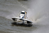 Kris Shepard (#46) SST-120 class.Bay City River Roar, Bay City,Michigan USA.26-2821 June, 2009..©F. Peirce Williams 2009 USA.F.Peirce Williams.photography.ref: RAW (.NEF) File Available