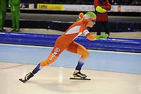 SCHAATSEN: HEERENVEEN: 26-12-2013, IJsstadion Thialf, KNSB Kwalificatie Toernooi (KKT), 1000m, Antoinette de Jong, ©foto Martin de Jong