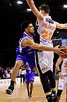 Saints&rsquo; Shea Ili in action during the NBL - Wellington Saints v Hawkes Bay Hawks  at TSB Bank Arena, Wellington, New Zealand on Friday 11 May 2018.<br /> Photo by Masanori Udagawa. <br /> www.photowellington.photoshelter.com