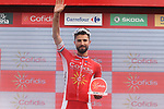 Nacer Bouhanni (FRA) Cofidis wins Stage 6 of the La Vuelta 2018, running 150.7km from Huércal-Overa to San Javier, Mar Menor, Sierra de la Alfaguara, Andalucia, Spain. 30th August 2018.<br /> Picture: Colin Flockton | Cyclefile<br /> <br /> <br /> All photos usage must carry mandatory copyright credit (© Cyclefile | Colin Flockton)