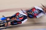 Japan team group (JPN), <br /> AUGUST 28, 2018 - Cycling - Track : Men's Team Pursuit Bronze final at Jakarta International Velodrome during the 2018 Jakarta Palembang Asian Games in Jakarta, Indonesia. <br /> (Photo by MATSUO.K/AFLO SPORT)