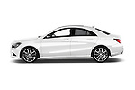 Car Driver side profile view of a 2016 Mercedes Benz CLA - 4 Door Sedan Side View