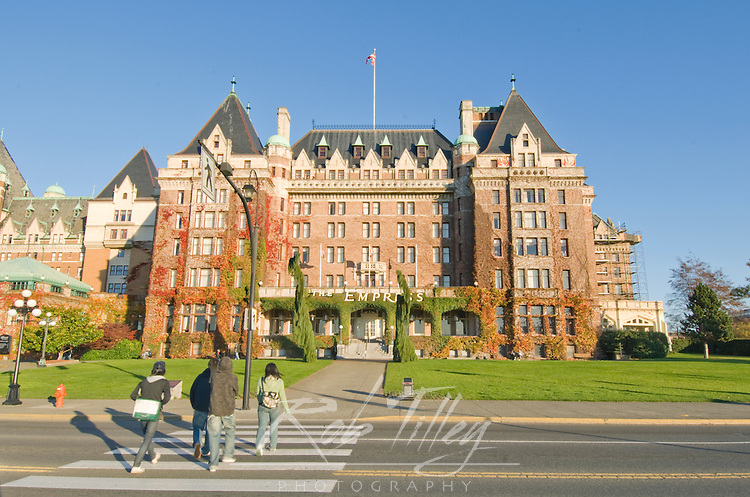 Canada, BC, Victoria, Empress Hotel