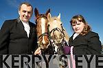 James and Laura Joy, Killorglin, pictured at the Kingdom Hunt club hunt in Killarney on Sunday.