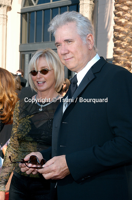 John Laroquette and wife arriving at the 2002 Creative Arts Emmy Awards at the Shrine Auditorium in Los Angeles. September 14, 2002.           -            LaroquetteJohn01.jpg