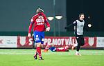 S&ouml;dert&auml;lje 2014-11-09 Fotboll Kval till Superettan Assyriska FF - &Ouml;rgryte IS :  <br /> &Ouml;rgrytes Andr&eacute; Nilsson deppar efter matchen mellan Assyriska FF och &Ouml;rgryte IS <br /> (Foto: Kenta J&ouml;nsson) Nyckelord:  S&ouml;dert&auml;lje Fotbollsarena Kval Superettan Assyriska AFF &Ouml;rgryte &Ouml;IS depp besviken besvikelse sorg ledsen deppig nedst&auml;md uppgiven sad disappointment disappointed dejected