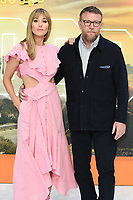 "Jacqui and Guy Ritchie<br /> arriving for the ""Once Upon a Time... in Hollywood"" premiere, Leicester Square, London<br /> <br /> ©Ash Knotek  D3514  30/07/2019"