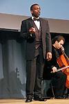 Robert Mack sings Tenor at the John Jay Justice Award ceremony, April 5 2011.