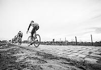 Chasing groupe <br /> <br /> 1st Dwars door West-Vlaanderen 2017 (1.1)