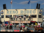 Reno Rodeo action from Friday night, June 17, 2011, in Reno, Nev..Photo by Cathleen Allison