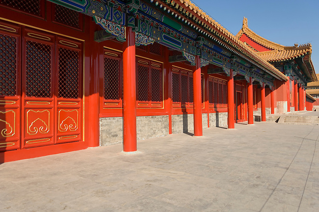 Offices of Imperial Secretariat, Forbidden City, Bejing, China