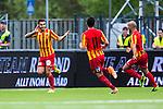 S&ouml;dert&auml;lje 2014-05-18 Fotboll Superettan Syrianska FC - Hammarby IF :  <br /> Syrianskas Charbel George har gjort 1-0 och jublar med lagkamrater <br /> (Foto: Kenta J&ouml;nsson) Nyckelord:  Syrianska SFC S&ouml;dert&auml;lje Fotbollsarena Hammarby HIF Bajen jubel gl&auml;dje lycka glad happy