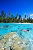 Plongée à la Piscine Naturelle, baie d'Oro, Ile des Pins, Nouvelle-Calédonie