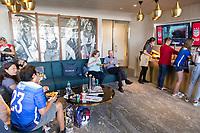 Los Angeles, CA - Sunday April 07, 2019: U.S. Soccer Member Lounge Sunset Party at Banc of California Stadium.