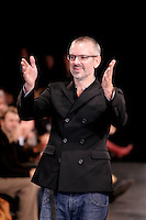 October 24 2005 , Montreal (Qc) Canada<br /> Canadian Fashion Designer Philippe Dubuc present the latest D.U.B.U.C. colection during Montreal's fashion Week (Semaine de la Mode de MontrÈal).<br /> One of Canada's top men's and women's wera designer, Dubuc has been selected for the MEN IN SKIRTS exhibit at Vitoria & Albert Museum in London, England.<br /> Photo : (c) 2005 Pierre Roussel