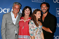LOS ANGELES - July 17:  Danny Huston, Anjelica Huston, Stella Huston, Jack Huston at the Oceana And The Walden Woods Project Present: Rock Under The Stars With Don Henley And Friends at the Private Residence on July 17, 2017 in Los Angeles, CA