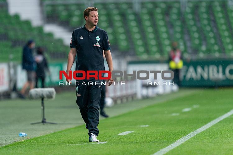 Florian Kohfeldt (Trainer SV Werder Bremen)<br /> <br /> <br /> Sport: nphgm001: Fussball: 1. Bundesliga: Saison 19/20: 34. Spieltag: SV Werder Bremen vs 1.FC Koeln  27.06.2020<br /> <br /> Foto: gumzmedia/nordphoto/POOL <br /> <br /> DFL regulations prohibit any use of photographs as image sequences and/or quasi-video.<br /> EDITORIAL USE ONLY<br /> National and international News-Agencies OUT.