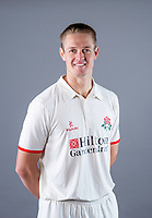 Picture By Allan McKenzie/SWpix.com - 11/04/18 - Cricket - Lancashire County Cricket Club Photo Call Media Day 2018 - Emirates Old Trafford, Manchester, England - Joe Mennie.