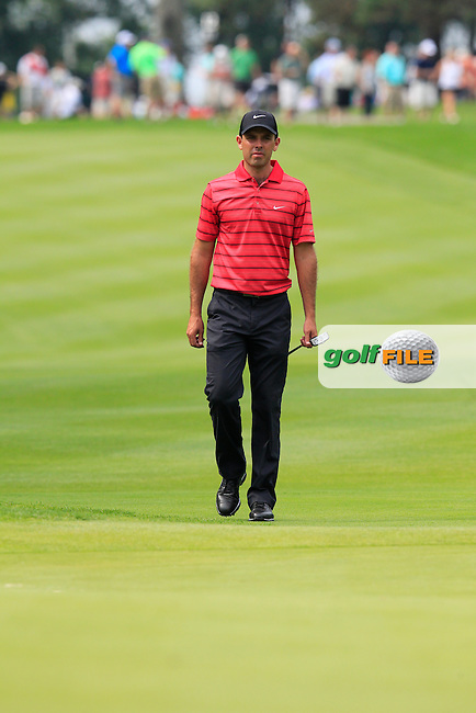 Charl SCHWARTZEL (RSA) on the 8th green during Saturday's Round 3 of the WGC Bridgestone Invitational, held at the Firestone Country Club, Akron, Ohio.: Picture Eoin Clarke, www.golffile.ie: 2nd August 2014